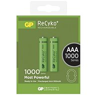 GP ReCyko 1000 (AAA) 2ks - Rechargeable Battery