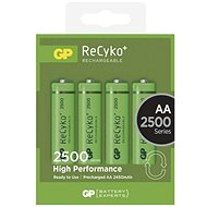 GP ReCyko 2500 (AA) 4 pcs - Rechargeable Battery