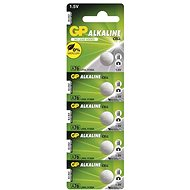 GP LR44 (A76) Alkaline 5pcs in Blister Pack - Button Cell