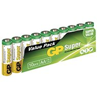 GP Super Alkaline LR6 (AA) 10pcs in Blister Pack - Disposable batteries