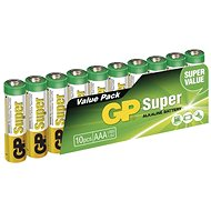 GP Super Alkaline LR03 (AAA) 10pcs Blister Pack - Disposable batteries