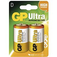 GP Ultra Alkaline LR20 (D) 2 pcs in blister package - Disposable batteries