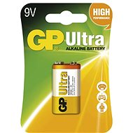 GP Ultra Alkaline 9V 1 pc blister - Disposable batteries