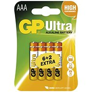 GP Ultra Alkaline LR03 (AAA) 6+2 pcs blister pack - Disposable batteries