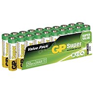 GP Super Alkaline LR03 (AAA) 20 pcs blister pack - Disposable batteries