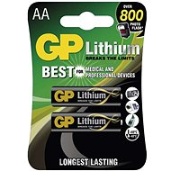 GP FR6 (AA) Lithium 2pcs in Blister Pack - Disposable batteries