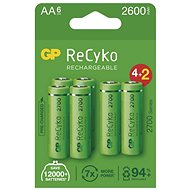 GP ReCyko 2700 AA (HR6), 6 pcs - Rechargeable Battery
