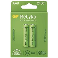 GP ReCyko 2500 AA (HR6), 2 pcs - Rechargeable Battery