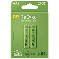GP ReCyko 2100 AA (HR6), 2 pcs - Rechargeable Battery