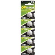 GP CR2025 Lithium 5pcs in Blister Pack - Button Battery