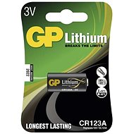 GP CR123A Lithium 1pcs in Blister Pack - Disposable batteries