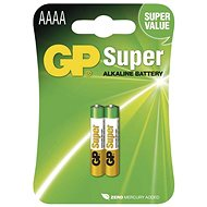GP Alkaline special battery GP 25A (AAAA, LR8), 2pcs - Disposable batteries