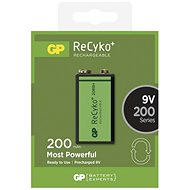 GP ReCyko 9V 200mAh 1 pc - Rechargeable battery