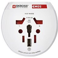 EMOS Travel Universal Adapter for Central Europe - Travel Power Adapter