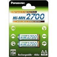 Panasonic eneloop NiMH AA 2700mAh 2pcs - Rechargeable Battery