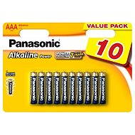 Panasonic AAA Alkaline Power LR03 10pcs - Battery