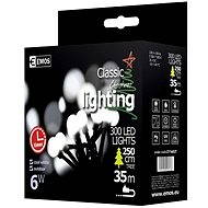 EMOS LED Christmas cherry chain - balls, 30m, cold white, timer - Christmas Chain Lights
