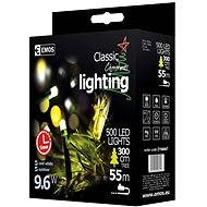 EMOS LED Christmas chain, 50m, cold white, timer - Christmas Chain Lights
