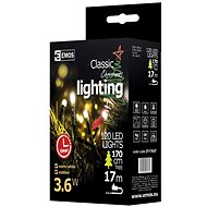 Emos 120 LED Xmas CLAS TIMER - Christmas Chain Lights