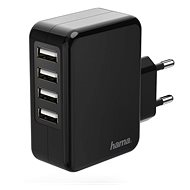 Hama power adapter, 4 ports - Charger