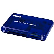 Hama 35-in-1 Blue - Card Reader