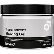BEVIRO Transparent Shaving Gel 500 ml - Shaving Gel
