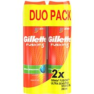 GILLETTE Fusion Sensitive 2 x 200ml - Shaving Gel