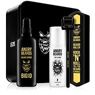 ANGRY BEARDS Set for beard growth - Roller and Doping 100 ml - Cosmetic Set