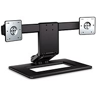 HP Adjustable Stand for Two Displays - Desk Mount