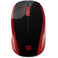 HP 200 Wireless Mouse in Empress Red
