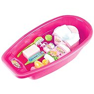Klein Large tub with accessories - Doll Accessory