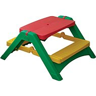 Folding Table with Benches - Children's furniture