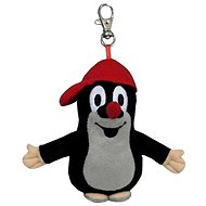 Little Mole with a cap and a carabiner - Plush Toy