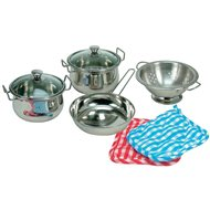 Bino A set of stainless steel cookware - Game set