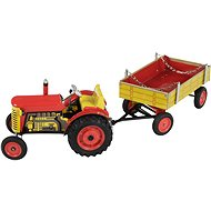 Kovap Tractor and flatbed - Metal Model