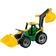 Lena Powerful Giants Tractor with Shovel and Excavator - Toy Vehicle