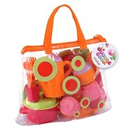 Tea Service and Crockery Set in a Bag - Children's Toy Dishes