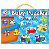 GALT Puzzle for young children - Vehicles - Puzzle