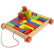 Woody Cart with blocks, small
