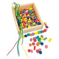 Woody Slip-on beads in a box