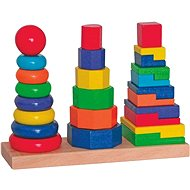 Woody Set Stacking Towers