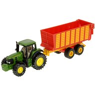 Siku Blister - John Deere 7530 with trailer - Metal Model