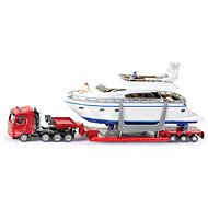 Siku Super - Heavy duty truck with yacht - Metal Model