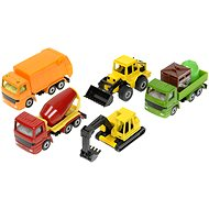 Siku Super - Set of construction vehicles - Metal Model