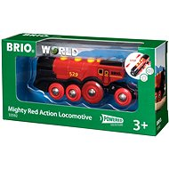 Brio World 33592 A mighty red action locomotive - Train