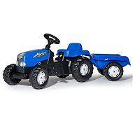 Rolly Toys Rolly Kid Pedal Tractor with Blue Siding - Pedal Tractor