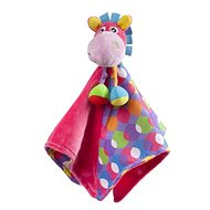 Playgro Cuddly Blanket with Donkey, Pink - Toddler Toy