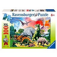 Ravensburger 109579 Between Dinosaurs - Puzzle