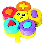 Playgro - Stackable Flower Puzzle with Shapes - Interactive Toy