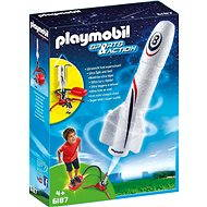 PLAYMOBIL® 6187 Rocket with Launch Booster - Building Kit